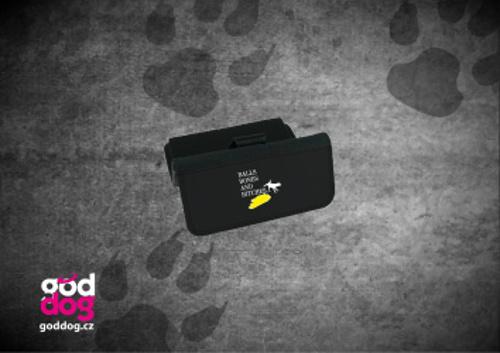 """Dámská peněženka s potiskem psa """"BBB"""", velká"""