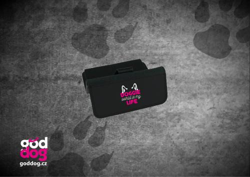 """Dámská peněženka s potiskem psa """"Doggie Life"""", velká"""