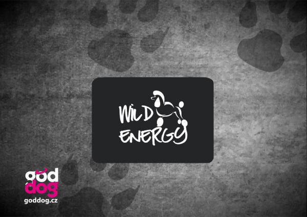 "Podložka pod myš s potiskem pudla ""Wild Energy"""