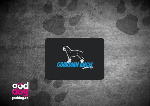 """Podložka pod myš s potiskem rotvajlera """"Guardian Angel"""""""