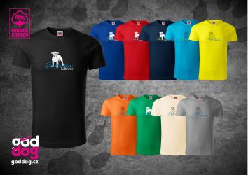 """Pánské triko s potiskem staffbulla """"Staffordshire Bullterrier"""", org.bavlna"""
