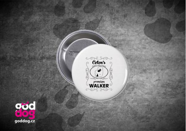 "Placka s potiskem cotonka de tuléar ""Coton Premium Walker"""