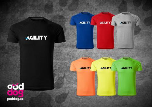 """Pánské funkční triko s potiskem agilit """"Agility"""""""