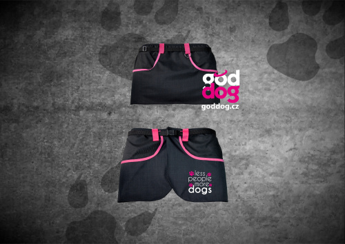 """Výcviková sukně s potiskem psa """"More Dogs"""""""