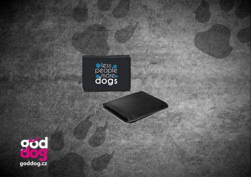 """Pánská peněženka s potiskem psa """"More Dogs"""""""