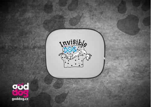 """Autostínítko s potiskem dalmatina """"Invisible Dog"""""""