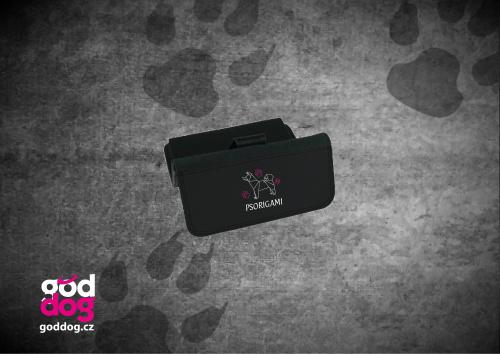 """Dámská peněženka s potiskem psa """"Psorigami"""", velká"""
