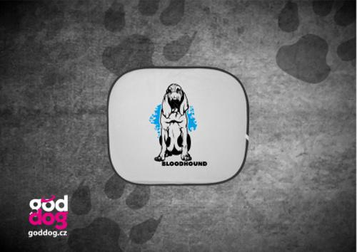 """Autostínítko s potiskem bloodhounda """"Bloodhound"""""""