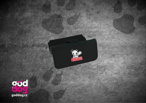 """Dámská peněženka s potiskem psa """"Keep Safe Distance"""", velká"""